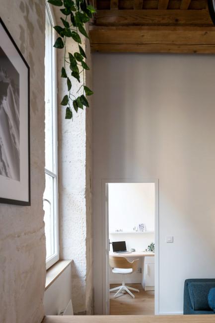 rénovation interieure acces chambre